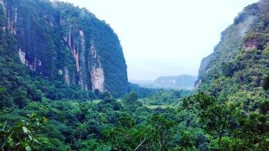 View dari area gardu pandang