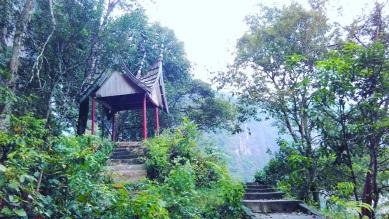 Gardu pandang di Aka Barayun