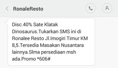 Ronale Resto SMS (2)